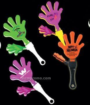 "7"" Hand Clapper (Purple/ Yellow/ Purple)"