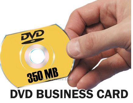 DVD Business Card With 4-color Process Imprint (350 Mb)