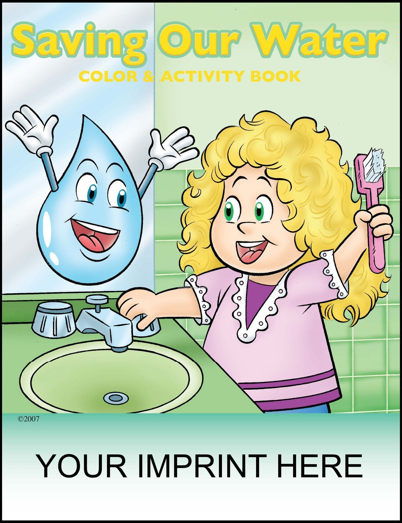 Saving Our Water Coloring & Activity Book