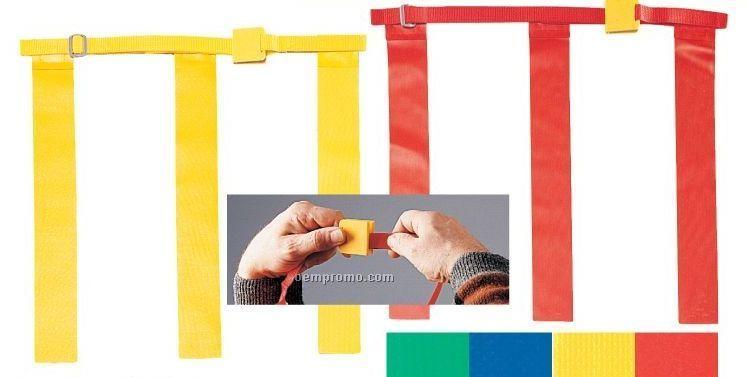 Youth Triple Flag Football Belt Set