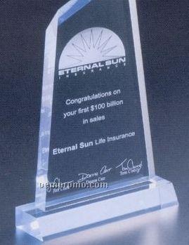"Executive Series Award W/ Base (4 1/2""X8 1/4"")"