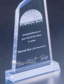 "Executive Series Award W/ Base (4""X6 1/2"")"