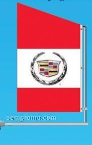 Standard Double Face Spacewalker Flag (Save)