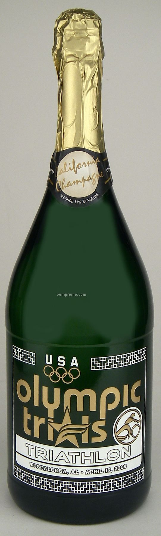 1.5l Magnum Ca Champagne (Sparkling Wine) Etched With 1 Color Fill