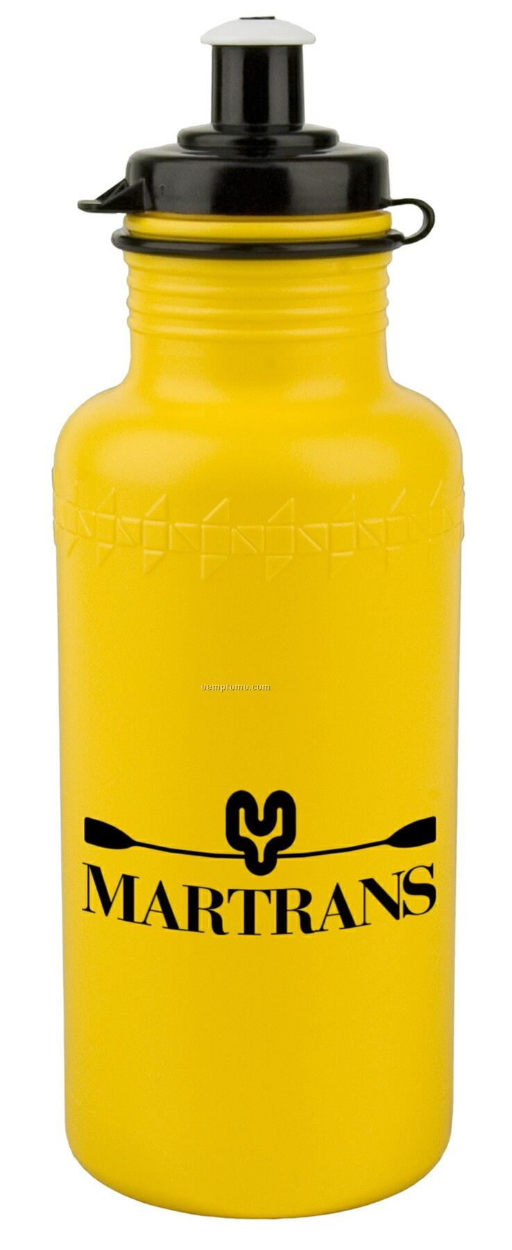 18 Oz. Fitness Bottle W/ Push Pull Lid