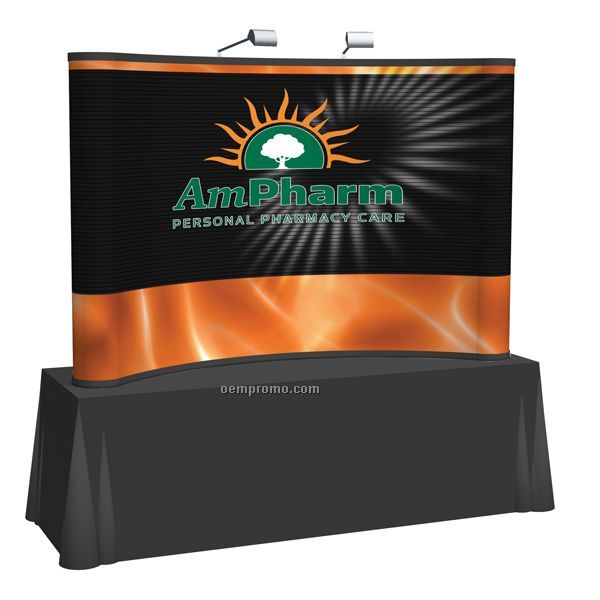 8' Curved Tabletop Mural Kit