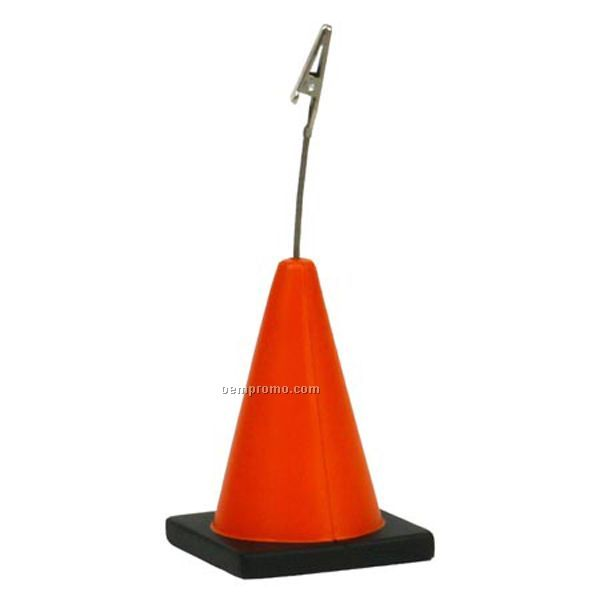 Construction Cone Memo Holder
