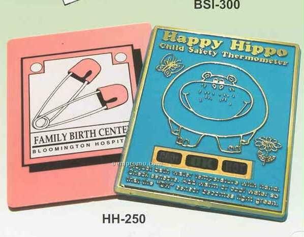 Happy Hippo Bath Thermometer