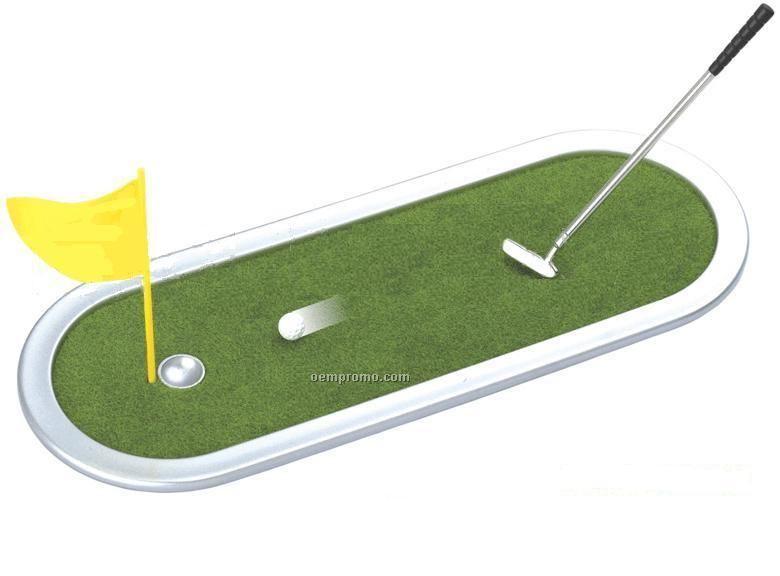 Miniature Golf Putting Set
