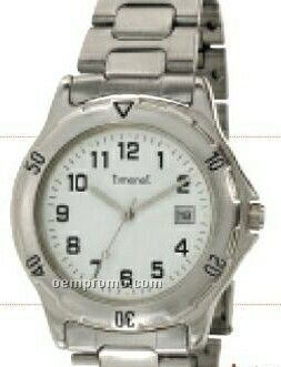 Minister 2-tone Executive Calendar Ladies Watch With Metal Band