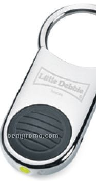 Pull & Twist Key Holder With Flashlight