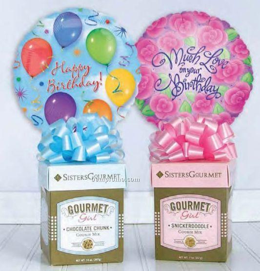 Sisters Gourmet Girl Birthday Cookie Mixes Gift (4 Pack)