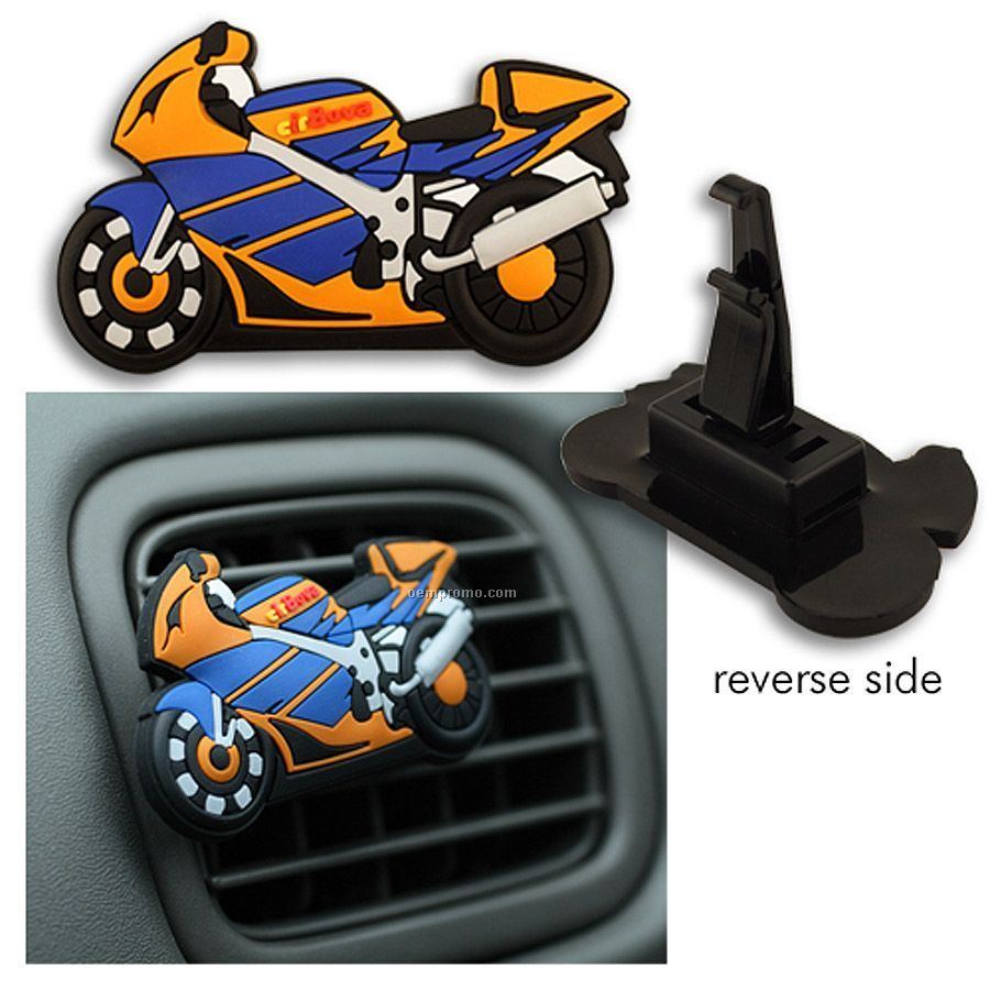 "Spectraflex(R) Auto Air Freshener (2.5"") With Molded 2-d Imprint"