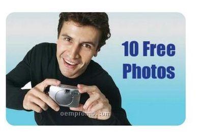 Photo Gift Card Or Key Tag - 15 Prints