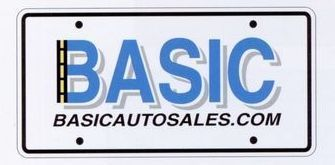 0.020 Gauge White Polystyrene Ad-a-plate License Plates