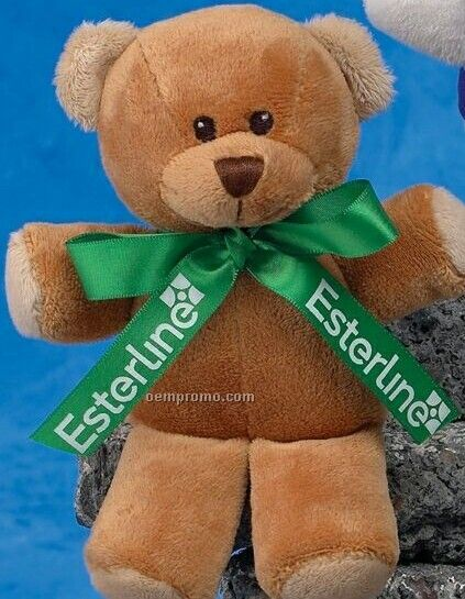 """6"""" Brown Mini-kuddles Bear"""