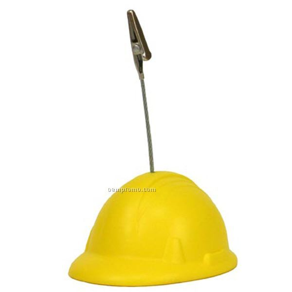 Hard Hat Memo Holder