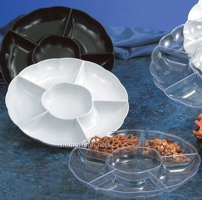 """Lightweight Six Compartment Tray (13"""")"""