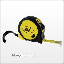Grip Tape Measure W/Belt Clip / Strap (10')