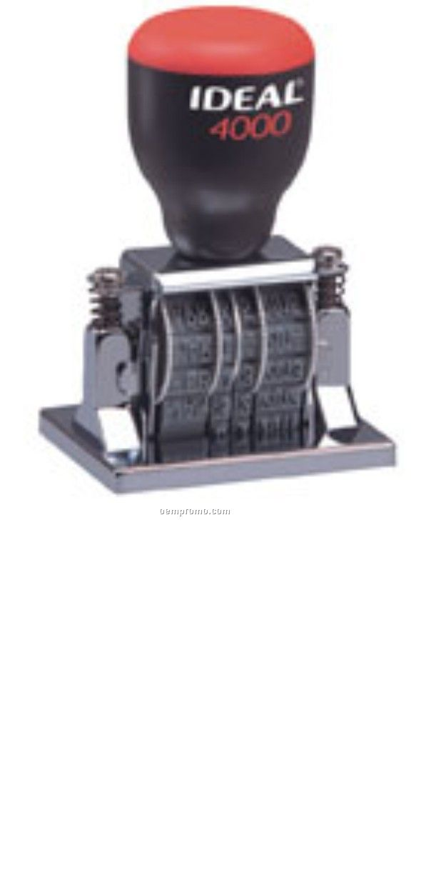 Ideal 4000-c Traditional Date Stamp