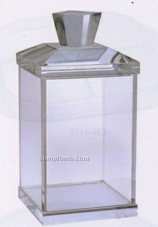 Regency Square Acrylic Candy Jar/ Cotton Ball Holder