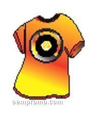 Rpm Record T-shirt Zipper Pull