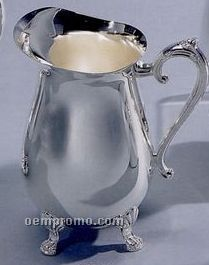 Silver Plated Barware 2 Quart Water Pitcher