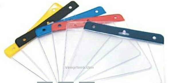 """Blank Stock Mylar Pouch For 4""""X3 1/4"""" Insert Card"""