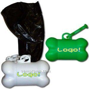 Bone-shaped Trash Bag Container Set