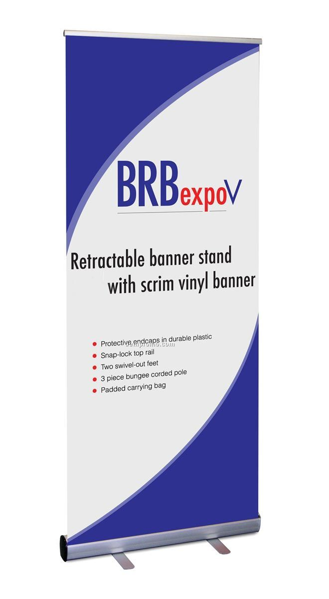Brbexpov Retractable Banner Stand With Vinyl BannerChina - Vinyl banners stands