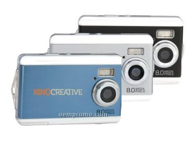 "Cosmopolitan Digital Camera W/ 2.4"" Color Lcd Screen (3 1/4""X1 1/4""X2 1/4"")"