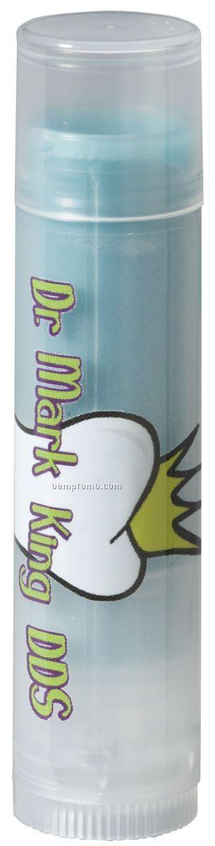 Blueberry Pomegranate Flavor Spf15 Lip Balm W/Standard Clear Cap