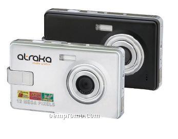 "Panoramic 12mp Digital Camera W/ 3"" Lcd Screen (3 7/8""X1 3/16""X2 5/16"")"