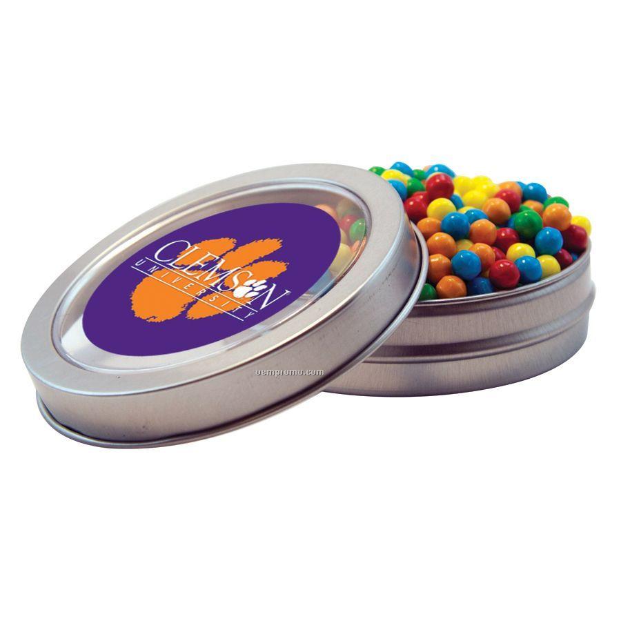 Short Round Tin With Mini-tarts