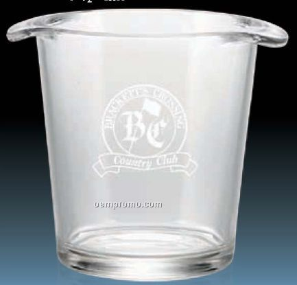 """7 1/2"""" Glass Champagne Cooler"""