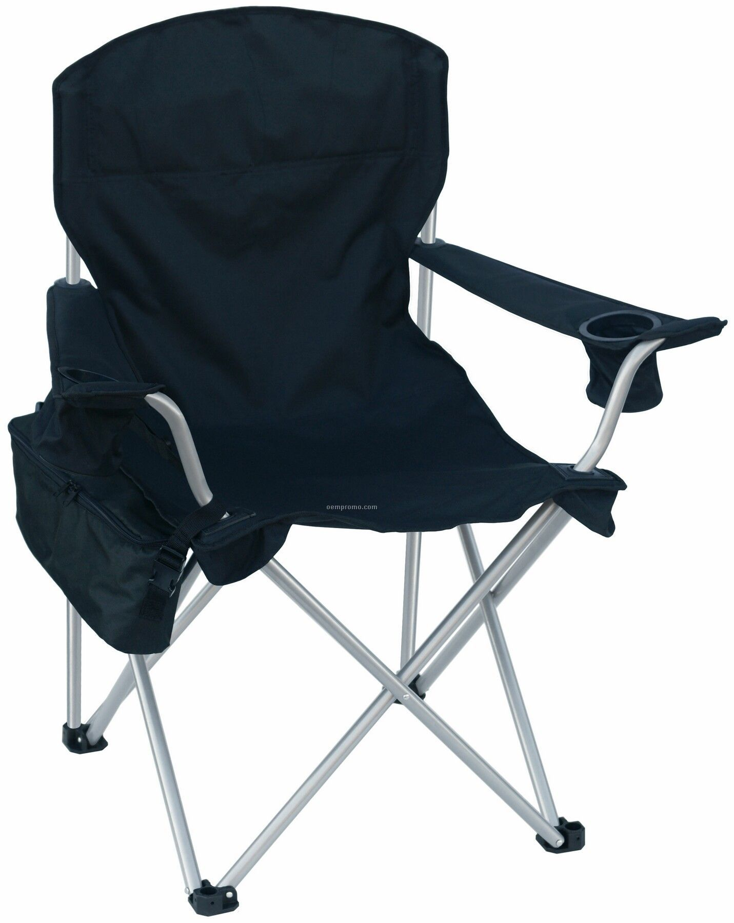 Large Folding Chair W/6 Pack Cooler And Carry Bag - 330 Lb Rating