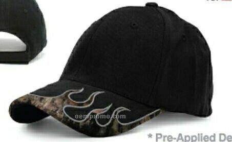 Mossy Oak Fire Brim Hunter Cap