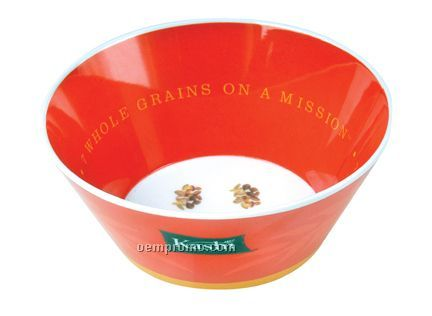 "5.5"" Melamine Straight Wall Bowl - Two Side Deco"