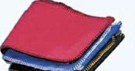"""60"""" Winter Fleece Scarf W/ Blanket Stitch Edge"""
