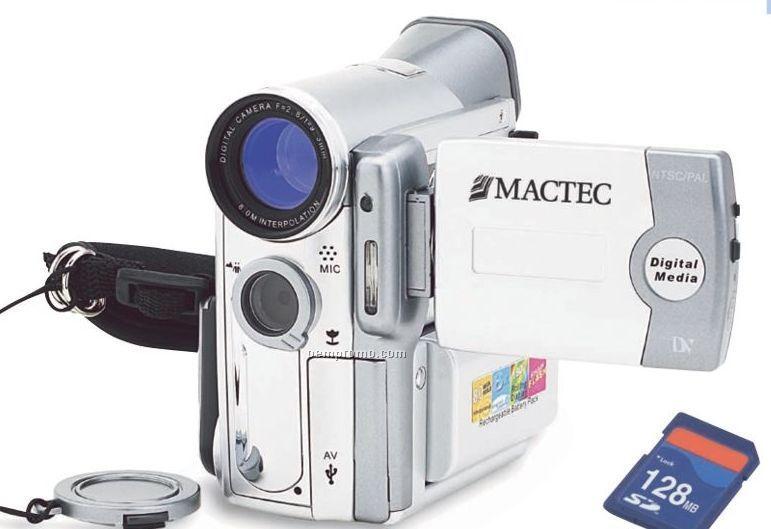 "Digital 8mp Video Recorder/Camera (4 1/4""X2 1/2""X4 1/4"")"