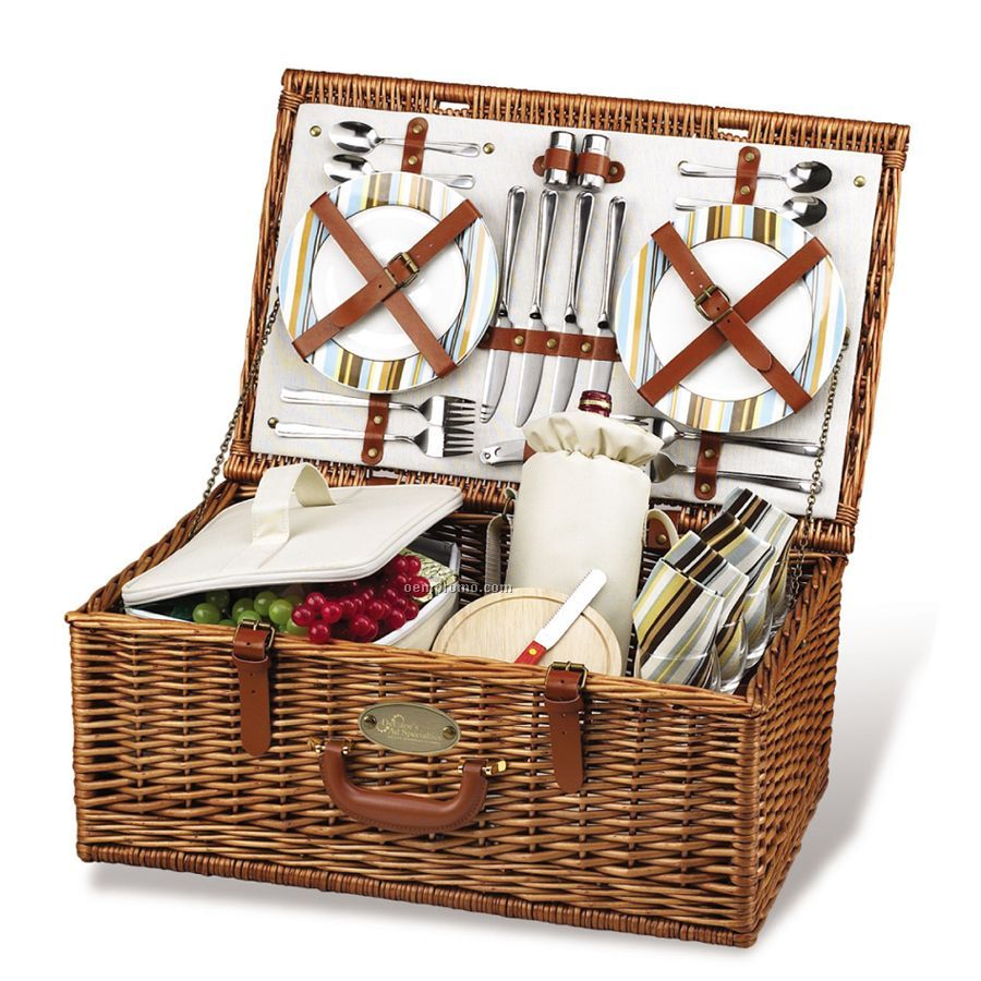 Cheap Picnic Basket For 4 : Dorset picnic basket for four china wholesale