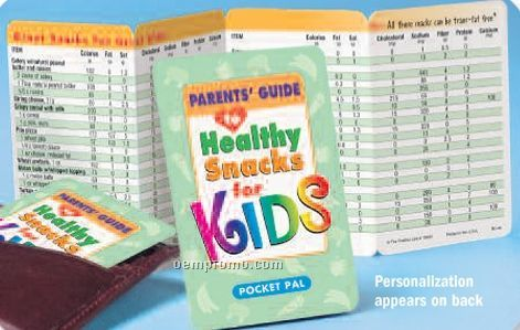 Parent's Guide To Healthy Snacks For Kids Pocket Pal,China