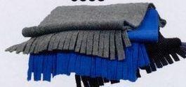 """60"""" Winter Fleece Scarf W/ Self Fringe"""