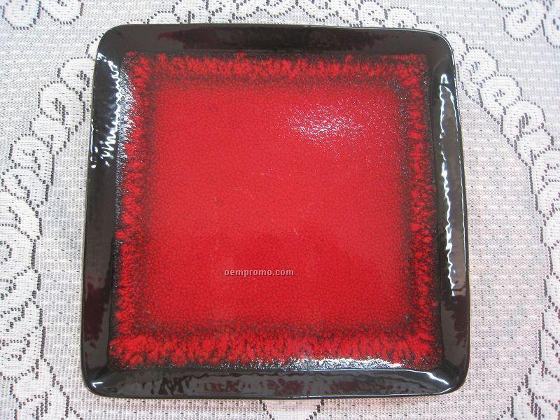 Colored Glaze Plates