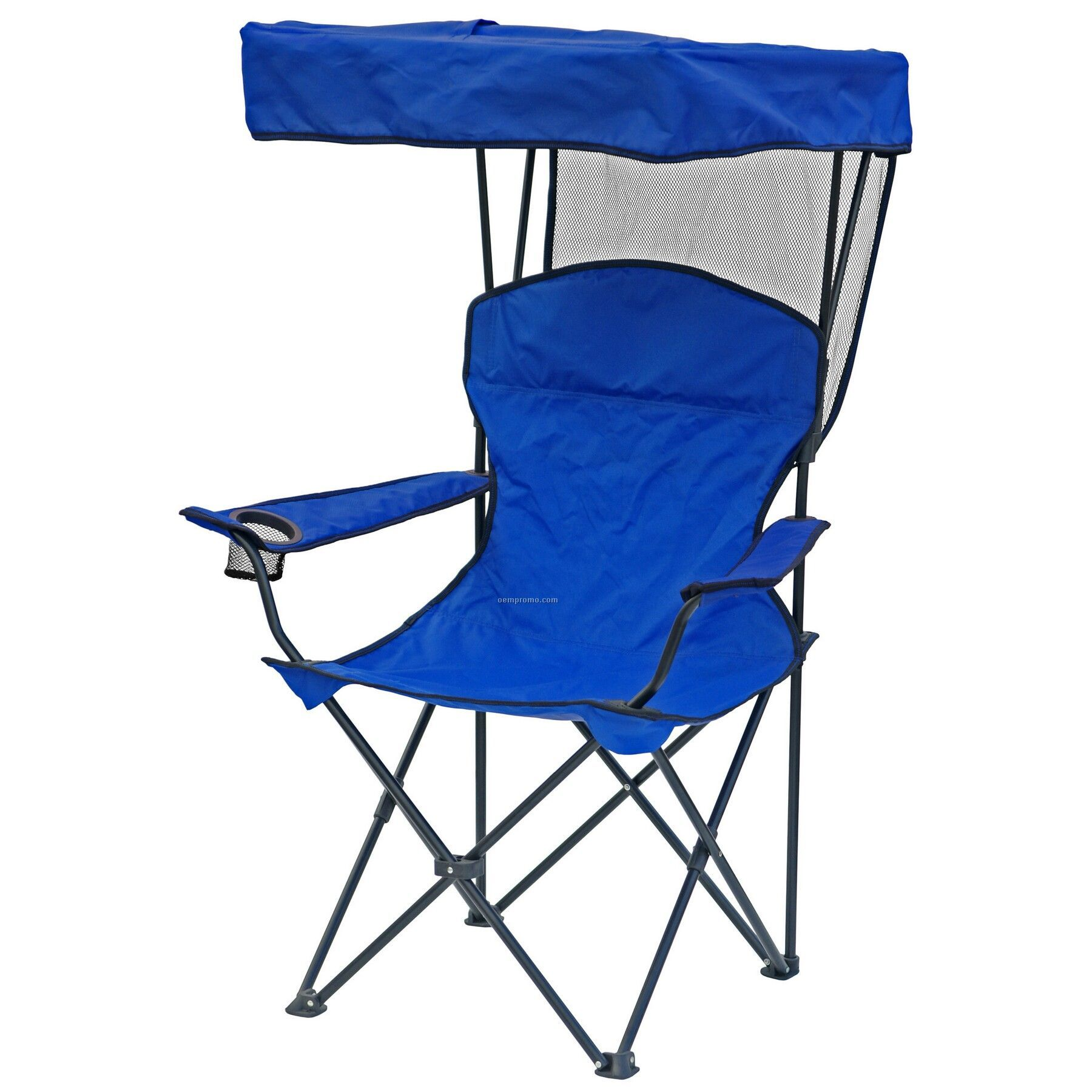 Direct Import Folding Chair W Canopy Arm Rests And Carry Bag