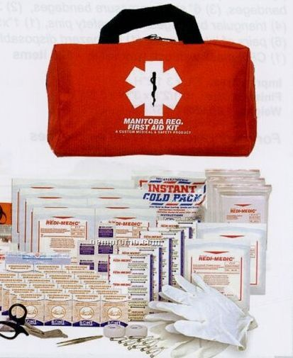Manitoba Regulation Designer First Aid Kit