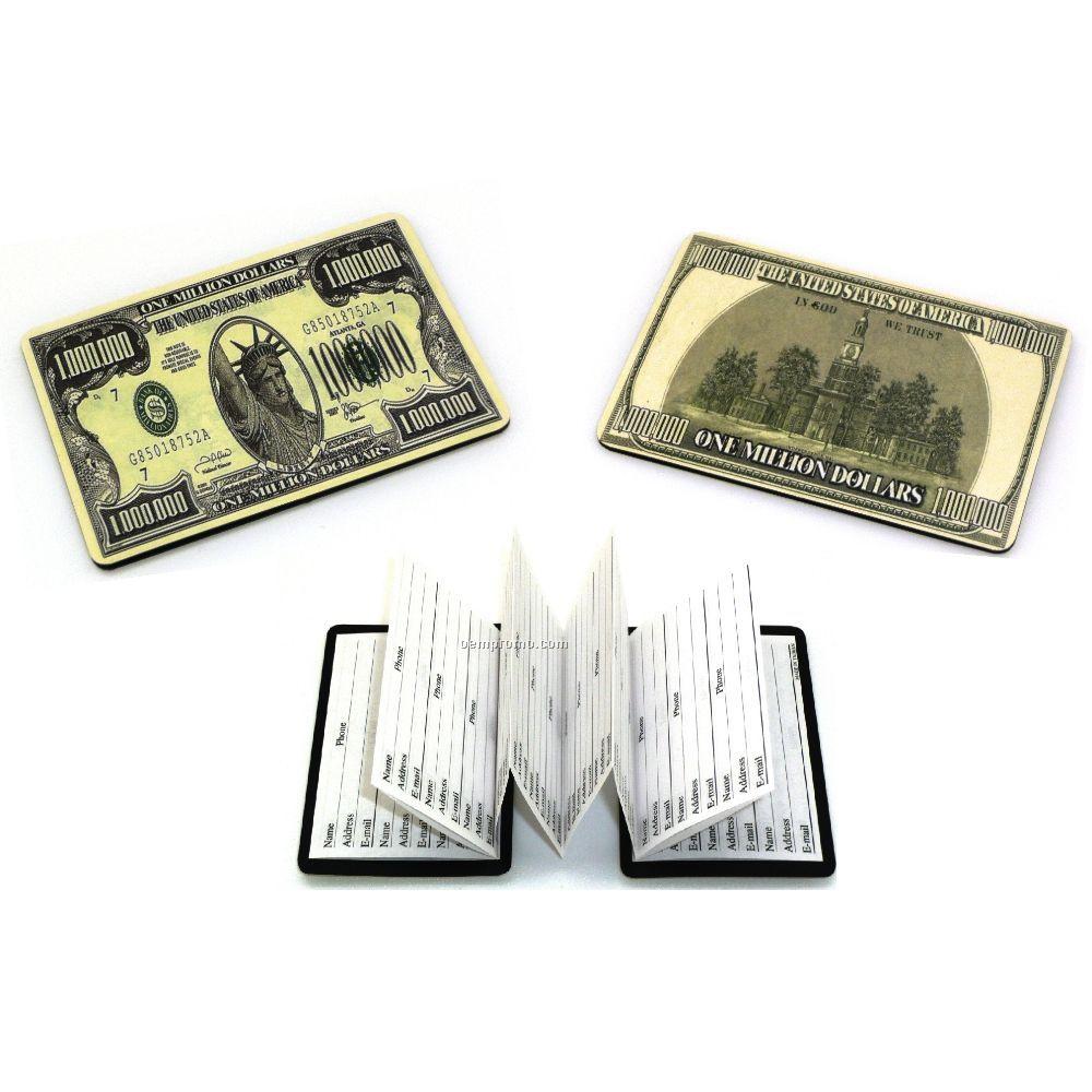 Million Dollar Magnetic Address Book