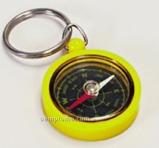 Mini Toy Compass Key Chain