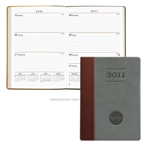 Vintage Professional Weekly Planner W/ 184 Pages