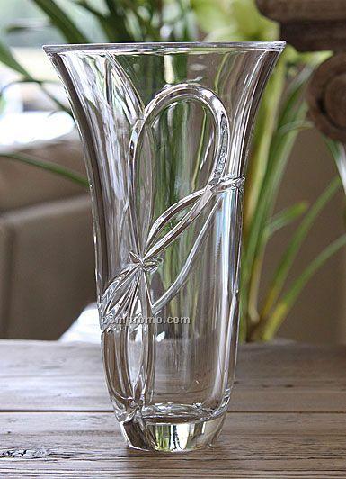 """Waterford/Wedgewood 5505020091 Vera Wang Love Knots 10"""" Vase"""